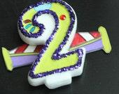 toy story - Buzz Lightyear Birthday Candle