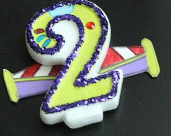Buzz Lightyear Birthday Candle
