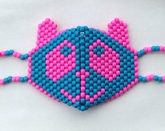 Colors Customizable: Panda Kandi Mask