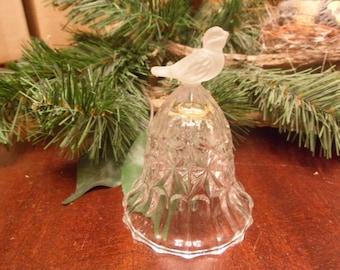 KristallGlass Bird  Bell