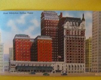 Vintage Hotel Postcard-Hotel Adolphus-Dallas, Texas