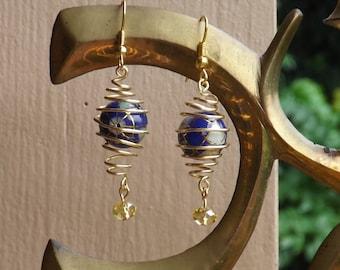 Caged Globe Earrings
