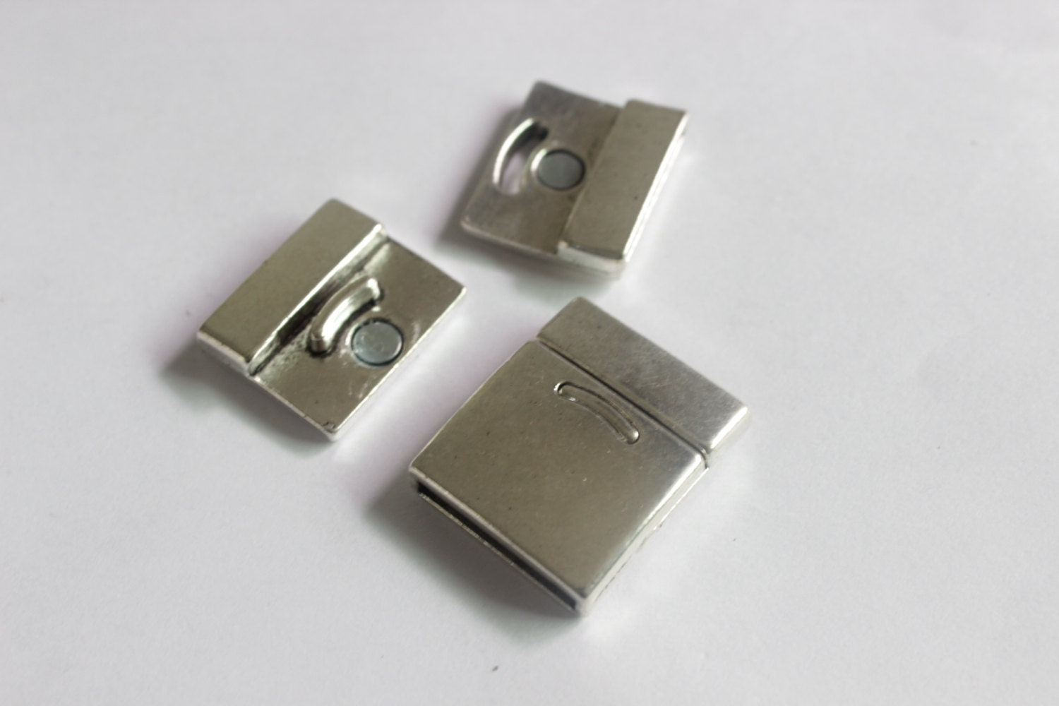 3sets flat magnetic clasps strong magnet clasp for by orientfinds