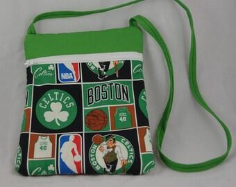 Boston Celtics Fabric Purse - Runaround Bag
