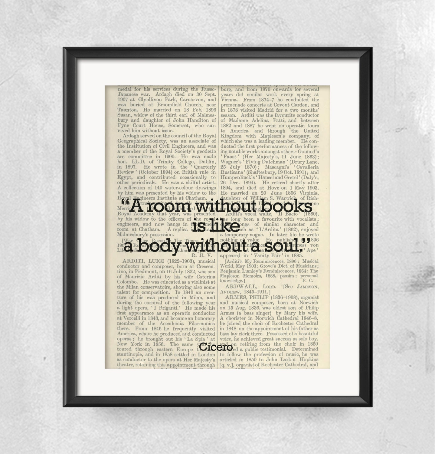 Library decor wall art room without books body without soul library decor wall art room without books body without soul book art printable wall decor office print life wisdom quote cicero quote amipublicfo Images