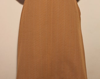 Vintage Striped Autumn Skirt