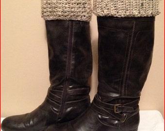 Reversible Crochet Boot Cuffs