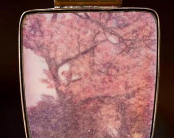 "Pendant photo ""Japanese-inspired"" great (4cm X 5 cm) copper"
