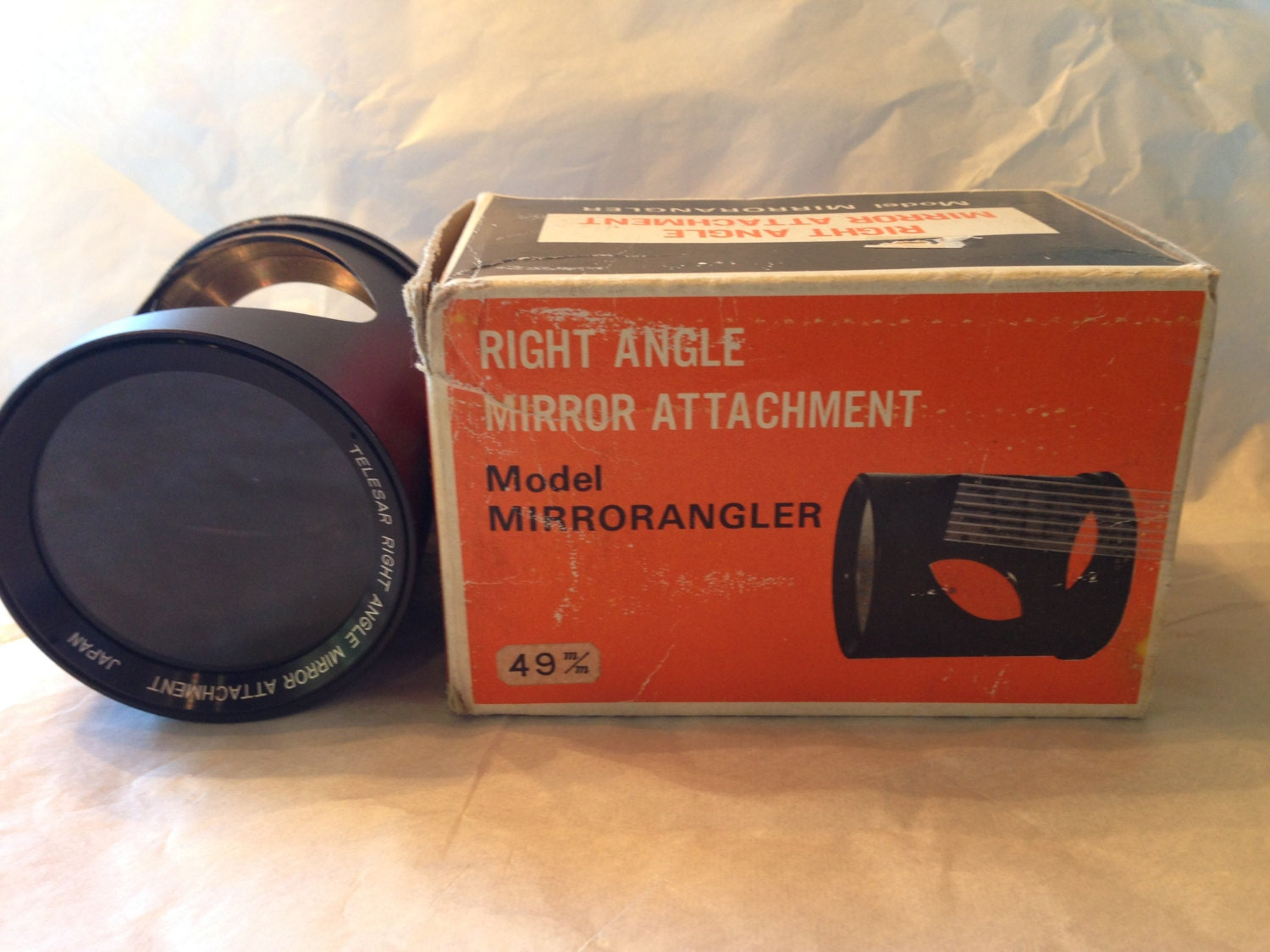 Telesar Mirrorangler Right Angle Camera Lens Attachment