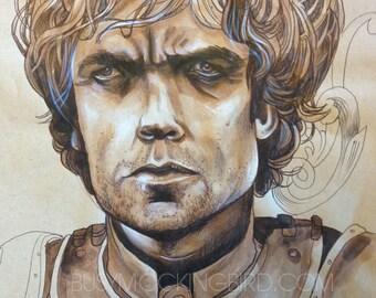 ORIGINAL sketchbook study-Tyrion