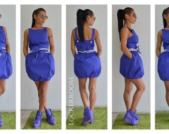 Mini Dress / Party Dress /Sleeveless dress /Loose dress /Summer dress /Short dress
