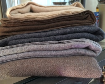 """Royal Cashmere Shawl. Double Ply 28""""x 80"""". Superior Quality. Handmade. Certified- 100% Cashmere"""