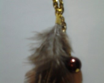Alana Long Feather Necklace