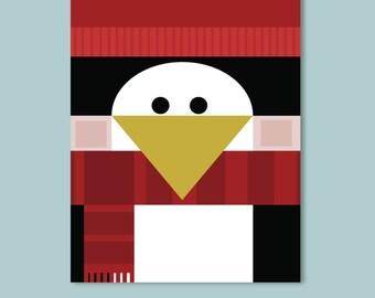 Penguin Children's Art Print