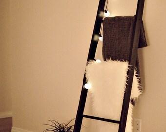 handmade blanket ladder home decor - MADE TO ORDER