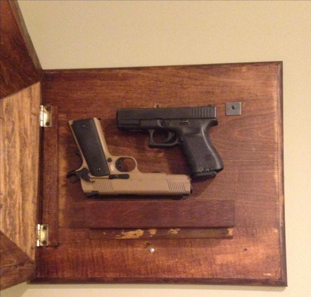 Hidden Gun Picture Frame