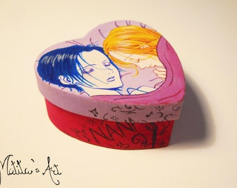 Anime hand painted boxes series / Nana Box