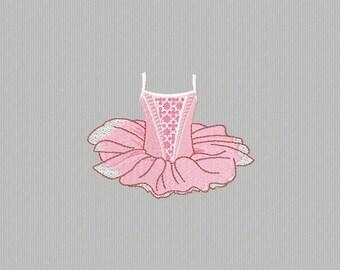 embroidery machine a tutu dance 4 x 4 format