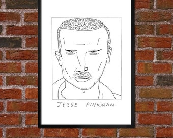 Badly Drawn Jesse Pinkman - Breaking Bad - Poster