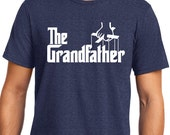 The Grandfather T Shirt Mens t shirt tshirt for Dad New Dad Awesome Dad Funny Tshirt Dad Gift Fathers Day Grandpa Gift