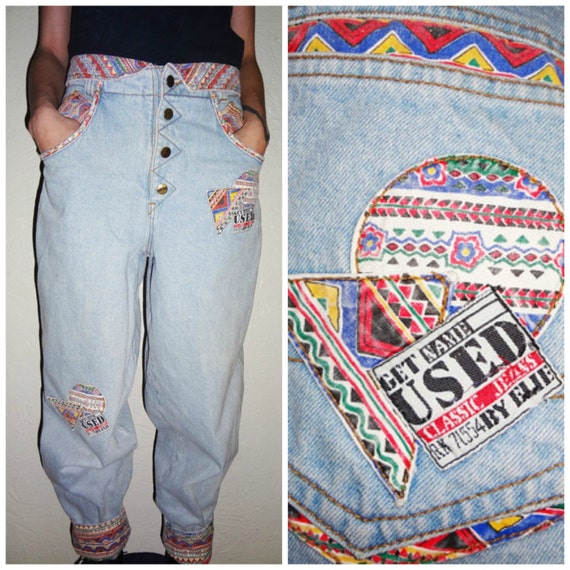 90s High waisted Get Used by Elie Classic Jeans Baggy