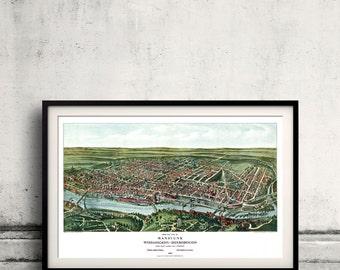 Manayunk - Philadelphia - Pennsylvania - United States - 1907 - SKU 0034