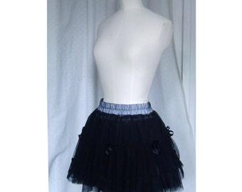 Mini skirt Gothic tulle