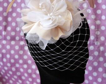 Bridal Veil with flower