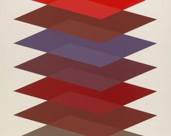 Twilight  - Abstract Art, Geometric Abstraction, Geometric Art, Abstract Print, Geometric Print, Contemporary Art
