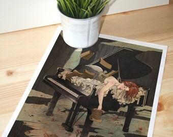 """Print """"Sueño en el Abismo"""""""