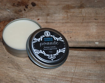 choose two scents, natural beard pomade, 2 oz