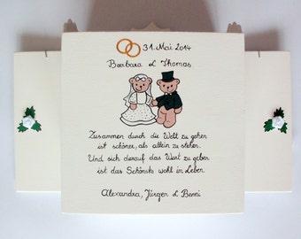 Exclusive wedding gift, money gift, gift for the wedding - wedding cabinets
