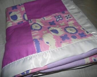 Purple Grrr - Baby Quilt
