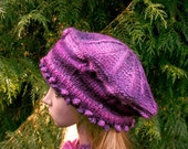 Small Victoria Tam in Petunia Colorway for Raspyroly