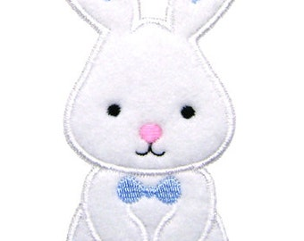 Easter Bunny Applique, Easter Applique, Bunny Embroidery, Easter Embroidery, Boy Bunny Applique, Machine Embroidery Design, Instant Download