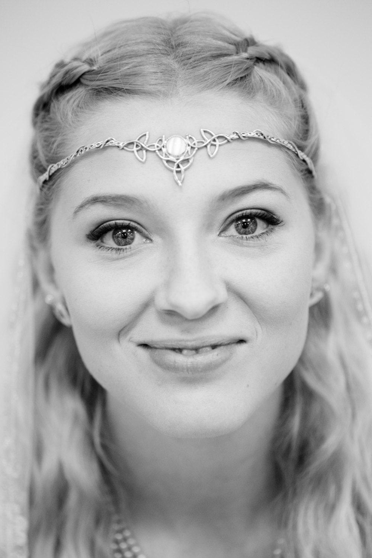 Be Bespoke Bridal Headpieces Ireland - Celtic wedding bridal circlet irish sterling silver circlet handmade bridal gemstone tiara ooak bespoke wedding circlet irish wedding