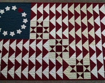 Colonial Glory Stars Quilt