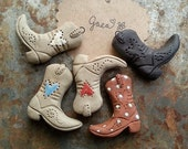These Boots Are Made For / Ceramic Boot Pendant Pre-Order