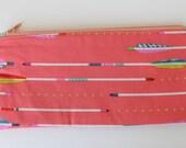 Arrow Zipper Pencil Pouch