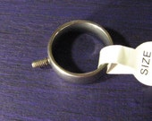 Ring Changeable Ring Topper Stainless Steel Ring Only SRA