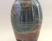 Vase Classic Amphora Shape - Purple-T Glaze