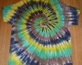 Tie Dye T Shirt - V Neck - Adult Size 3XL