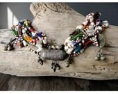 African Wedding Necklace - Antique