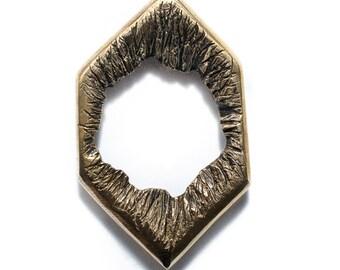 Porterness Studio's Bronze Ring With Organic Opening