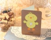 Birthday Chick Card