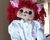 Primitive Annie E- pattern  Dress Me Up Annie!