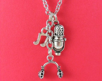 Sing Charm Necklace