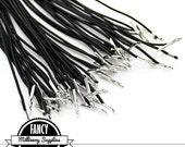 10 - Black Hat Elastics - for - Millinery - Fascinators - 10.5 Inches