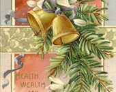 Antique New Year Postcard PSS 2345