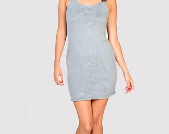 50% OFF Nebula Dress -handknit tank dress